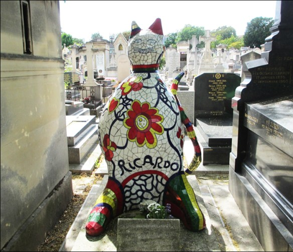 Grave of Ricardo Menn, Montparnasse Cemetery; pic: Cynthia Rose