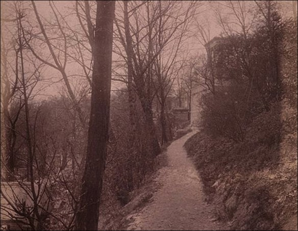 Chemin des Chevres, circa 1898; pic; Eugène Atget Wikipedia France