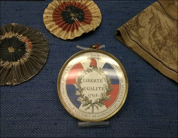 Revolutionary accessories, Musée Carnavalet; pic: Cynthia Rose