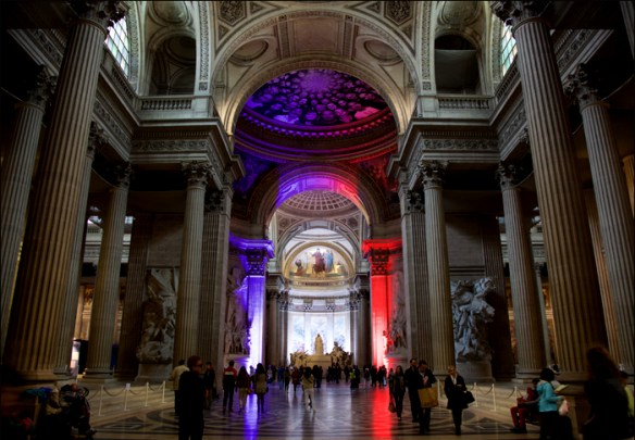 Inside the Panthéon; pic; Steve Sampson