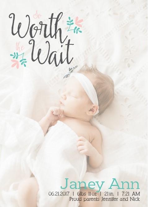 3 Reasons I\u0027m Loving Basic Invite for Birth Announcements