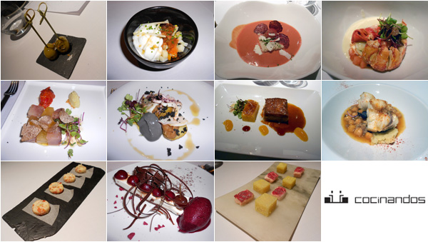 collage de platos