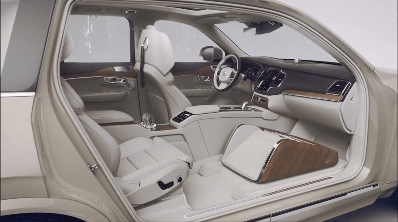 Volvo XC90 Lounge Console unveiled, and it's incredible!