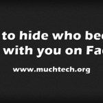 How to hide who became friends with you on Facebook