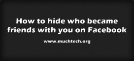How to Turning off Facebook New Friend Reports