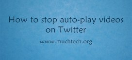 How to Disable Autoplay Videos on Twitter