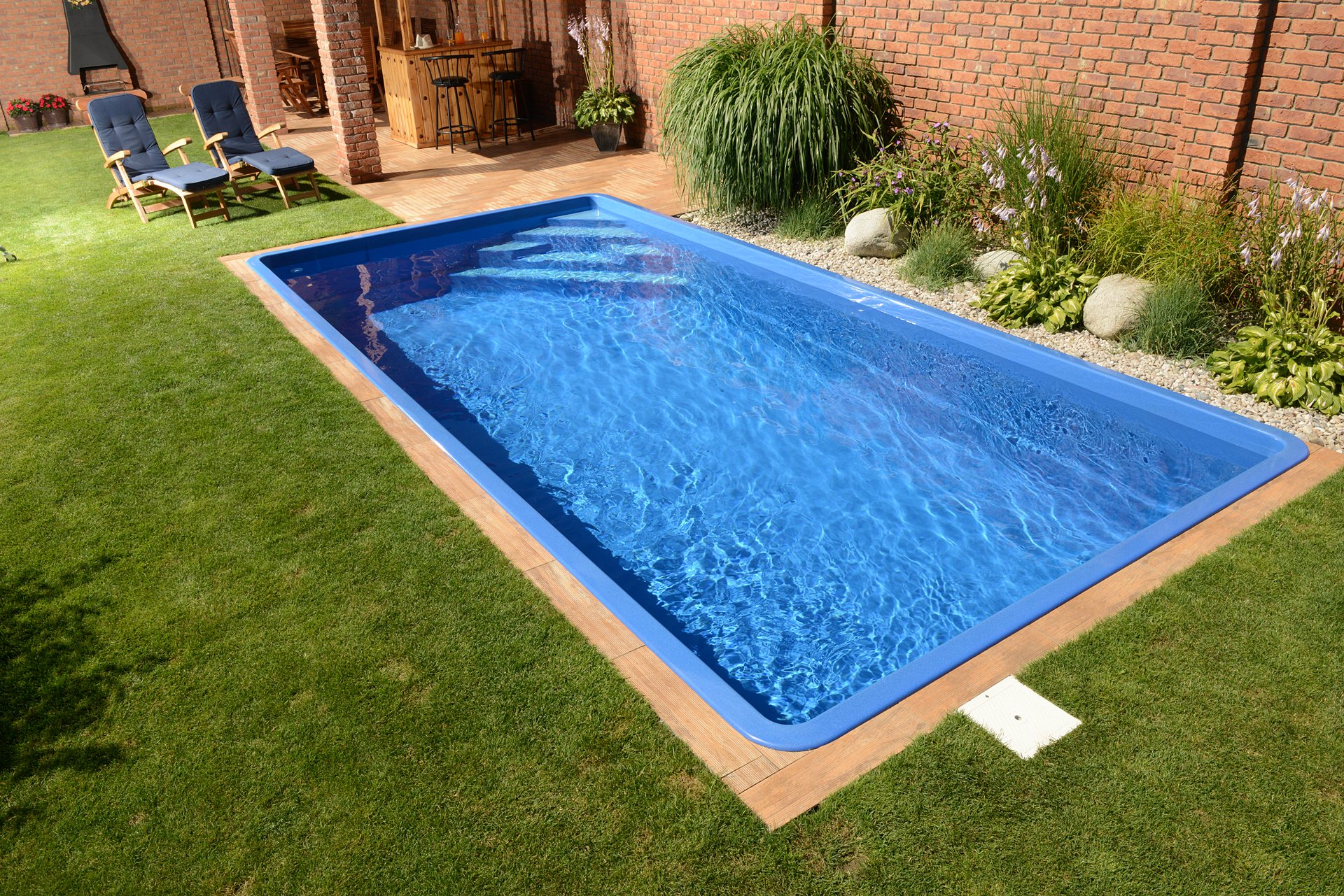Gfk Pool Farbe Polyester Pools