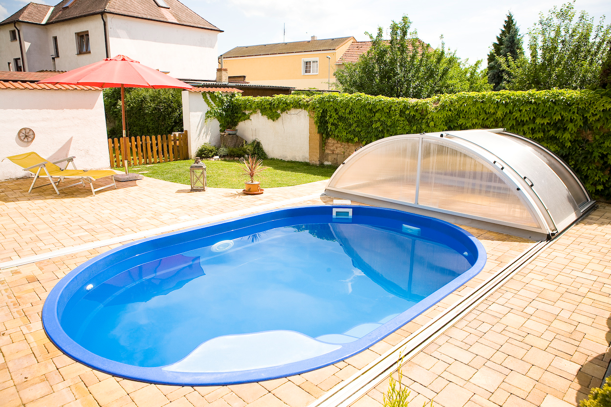 Gfk Pool Komplettset Oval Polyester Pools