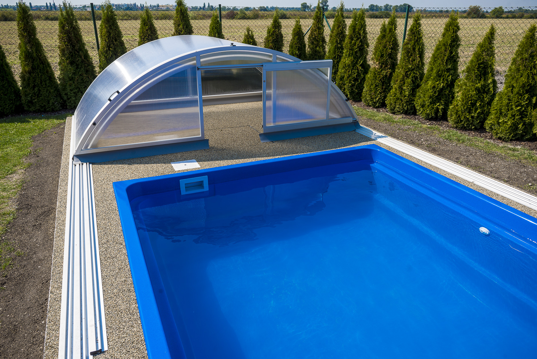 Gfk Pool Komplettset Test Polyester Pools
