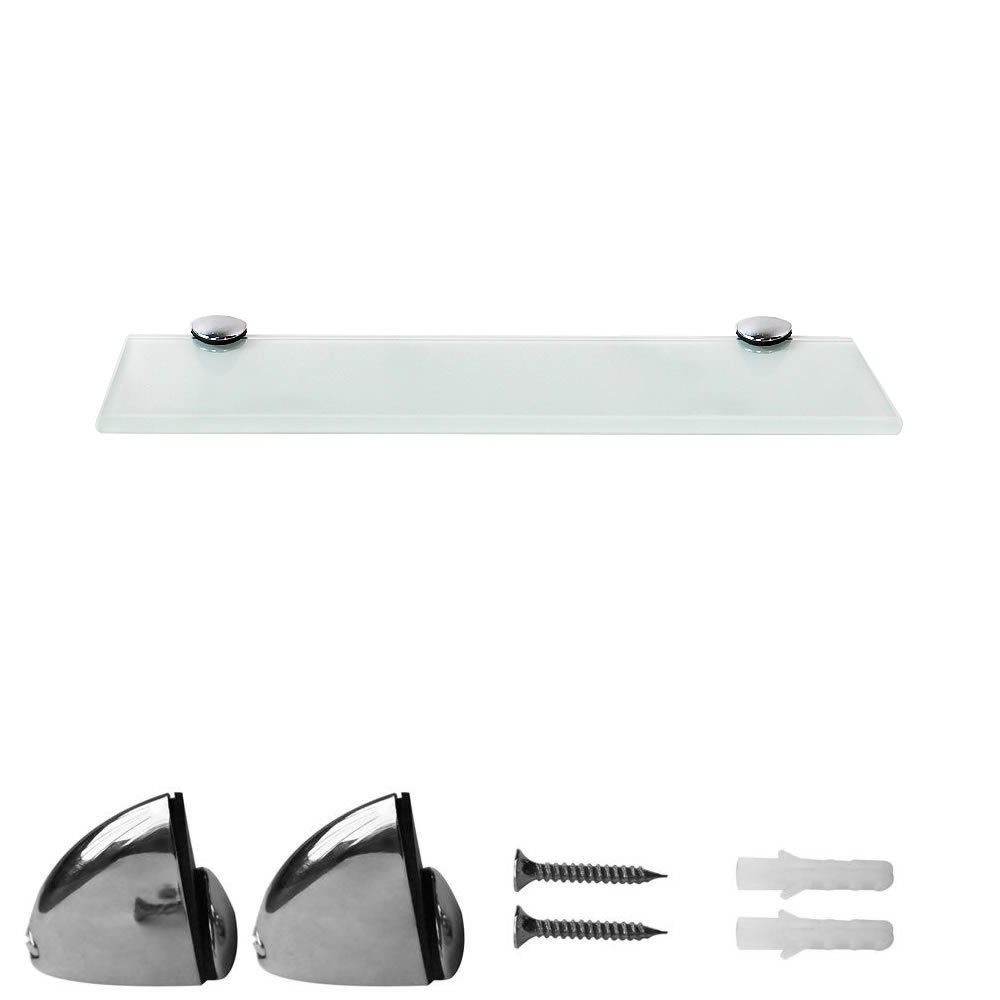 Bathroom Accessories Fittings Melko Wandregal Badregal Ablage 30x10cm Weiß Glasboden Halterung Glasregal Home Furniture Diy Mhg Co Ke