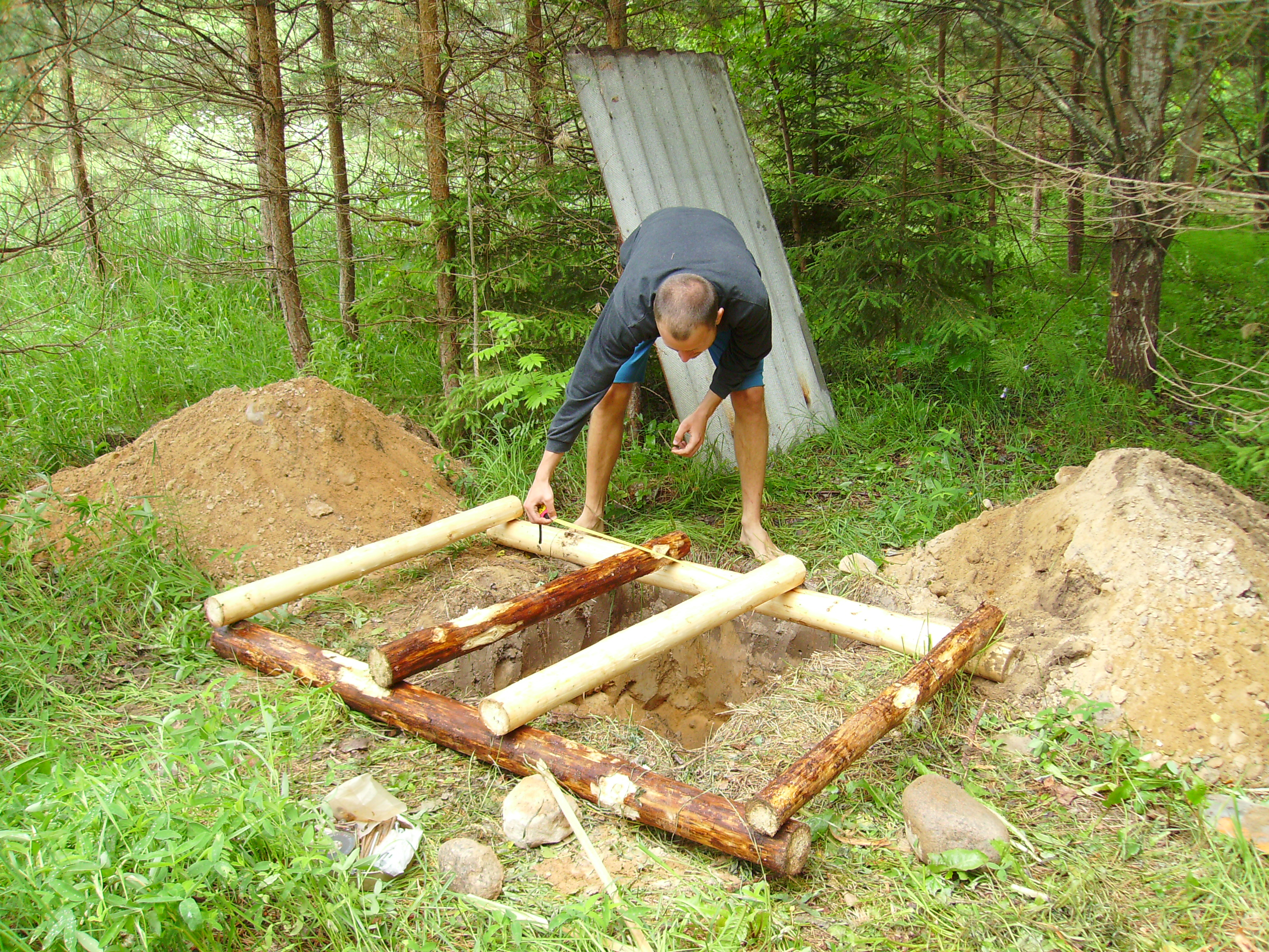 Caminetto Elettrico Bricoman Building A Wooden House I Mud On Our Feet