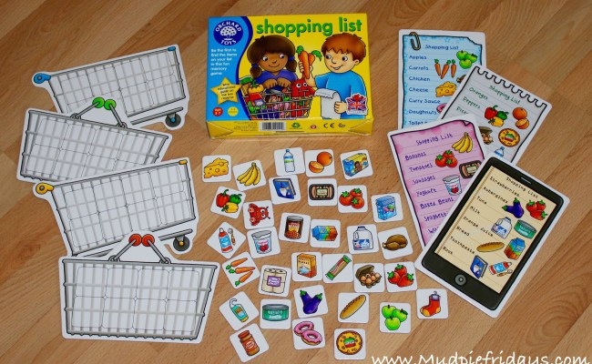 Orchard Toys Shopping List Game Review Mudpiefridays