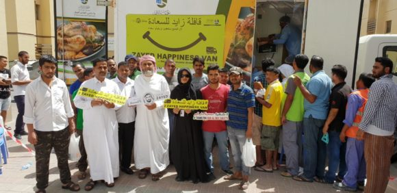 Zayed Happiness Van launch 4