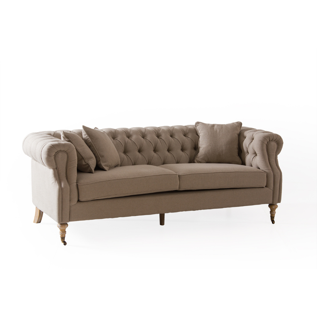 Sofa Medidas Estandar Sillon Sofa Chesterfield 3 Cuerpos
