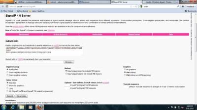 Genomics Lab Resource: Signal Peptide   muhammad1988adeel