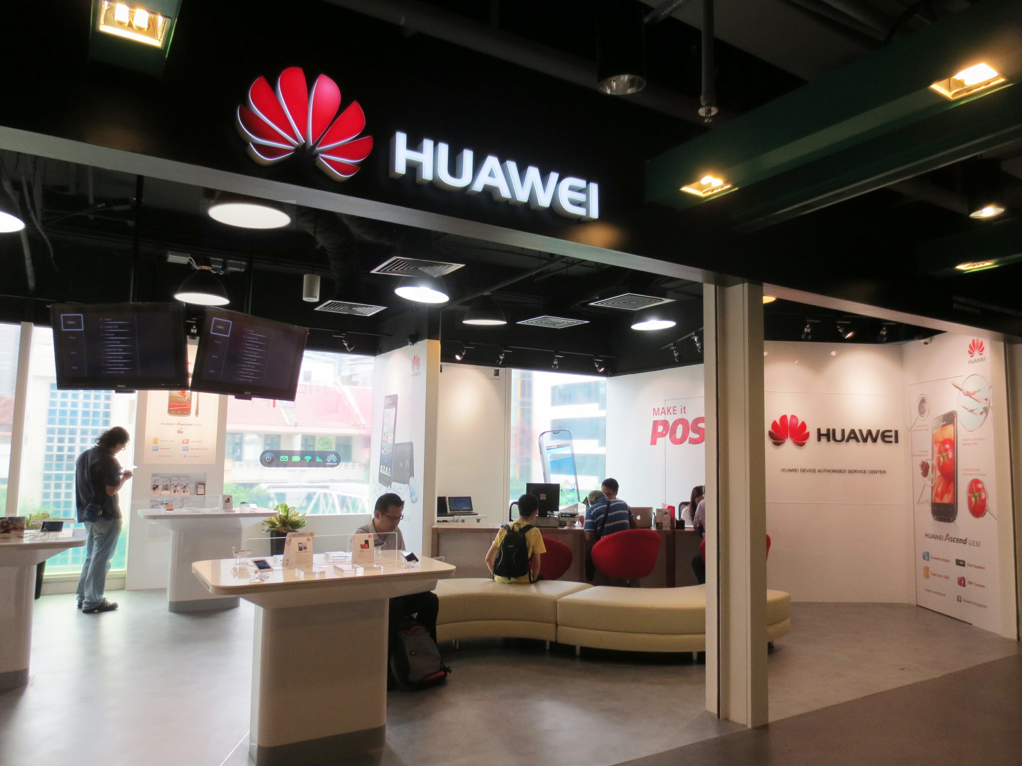 Huawei @ The Central