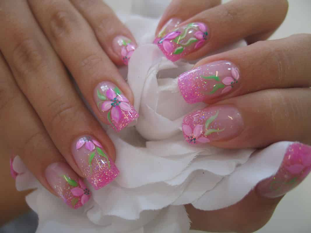 Uñas De Gel Decoradas Sencillas Uñas De Gel 2017 Francesa