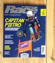La copertina del numero di dicembre della rivista Race ski magazine