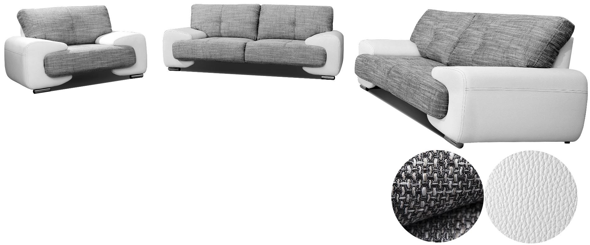Polstergarnituren 3er 2er Und Sessel 3er Sofa Mit Schlaffunktion