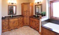 Mullet Cabinet  Rustic Bath
