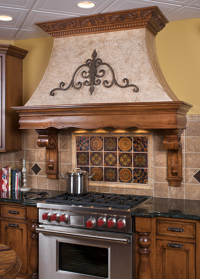 Kitchen Range Hood Design Ideas - kitchen hood ideas