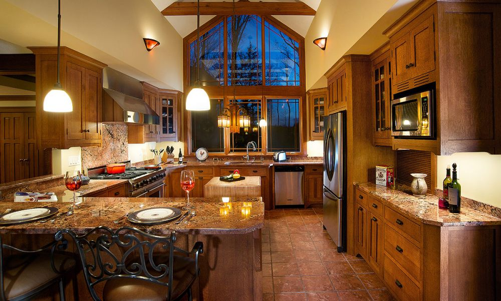 Mullet Cabinet — Craftsman Style Kitchen