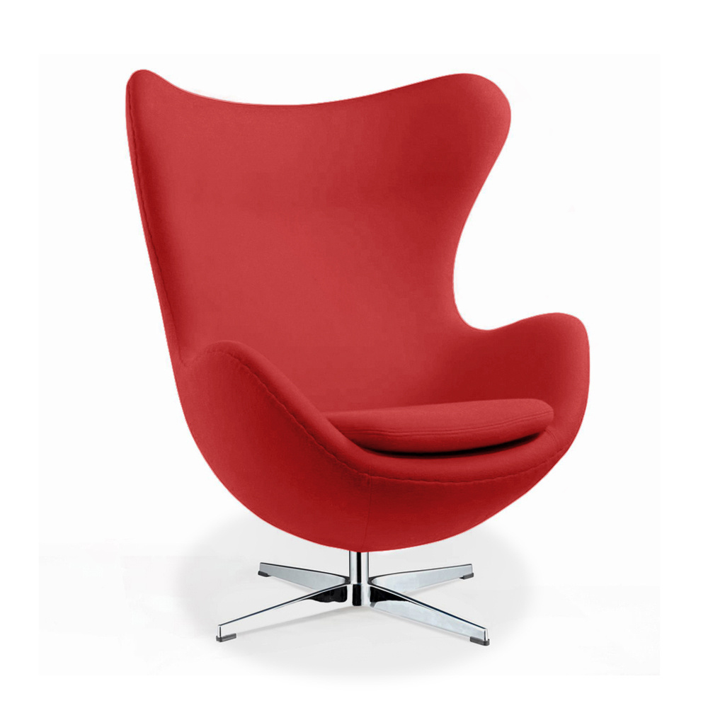 Sessel Vintage Rosa Arne Jacobsen Egg Chair