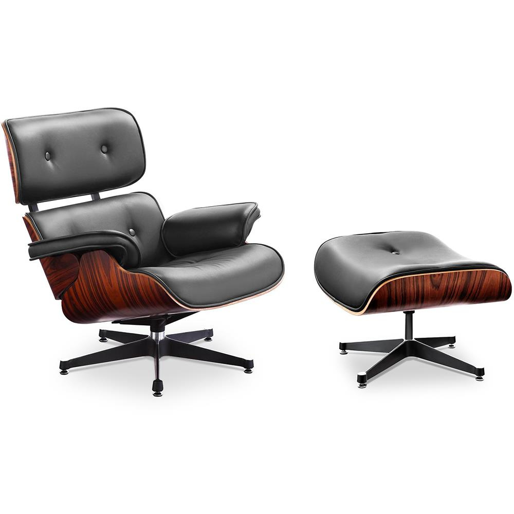 Charles & Ray Eames Sessel Xl Version Charles And Ray Eames Eames Lounge Chair Mit Ottoman Und Hoher Rückenlehne