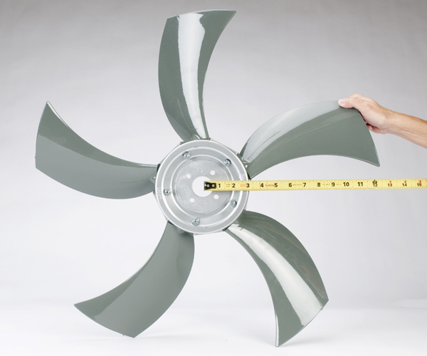 Propeller Ceiling Fan How To Determine The Diameter Of An Axial Flow Fan