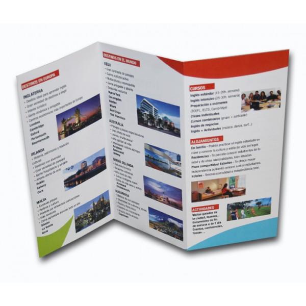 Triptico A4 - Multicopy Grafic (Online Copisteria Barcelona)