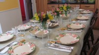 Easter Table setting | Multi Cultural Cooking Network