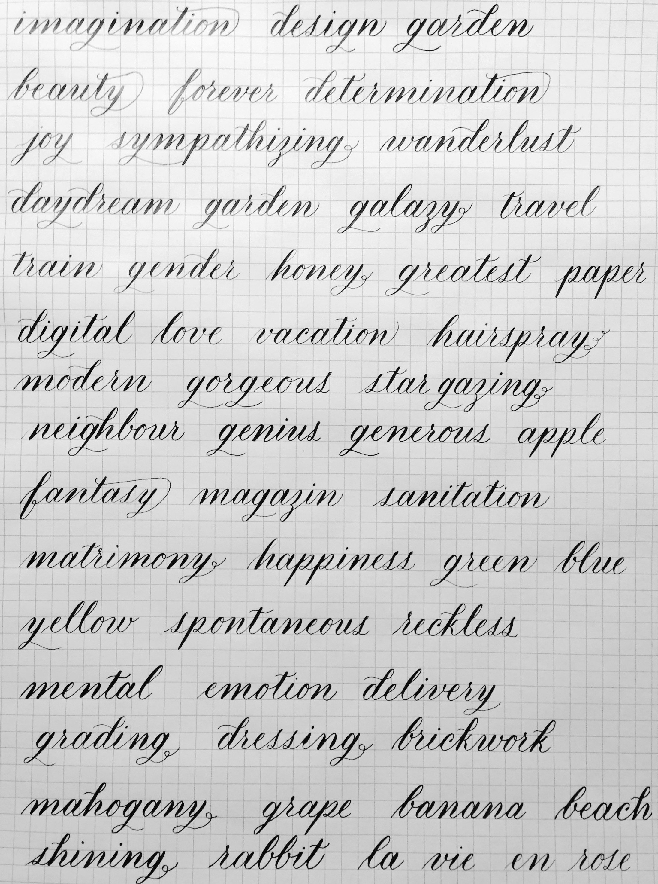 Calligraphy Online Review I Still Love Calligraphy Online Course The Semi Professional