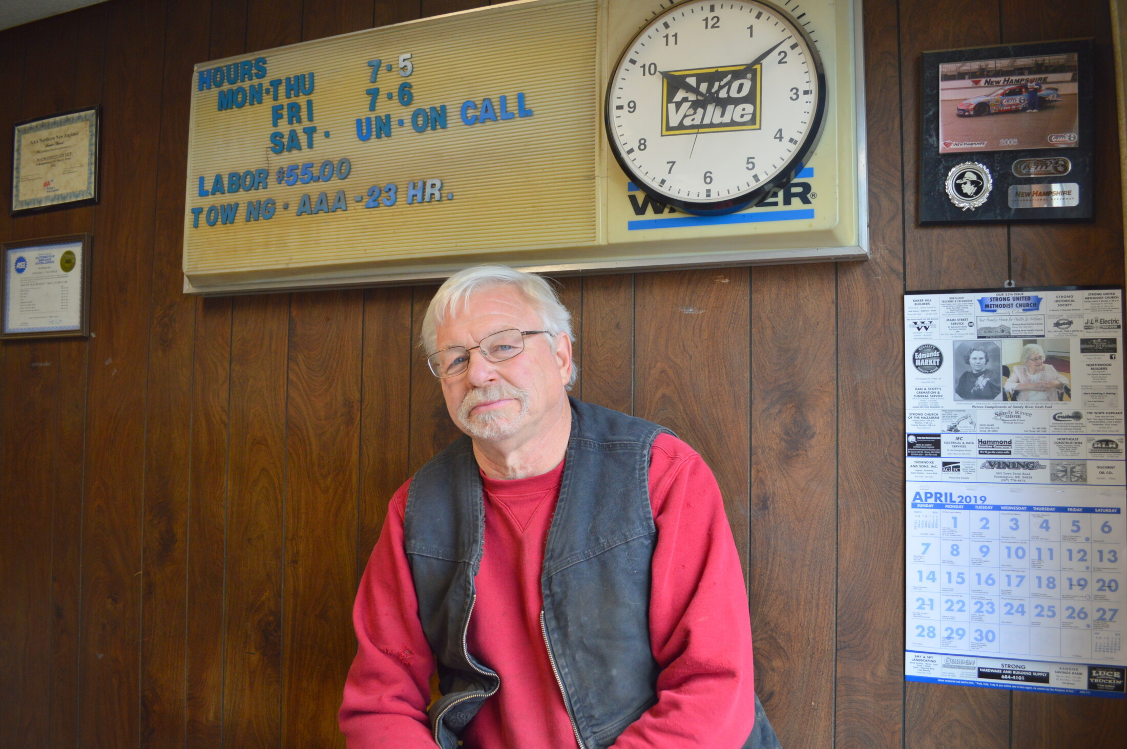 Garage Experts Of The Central Valley After 38 Years Strong Garage Owner Retires Lewiston Sun Journal
