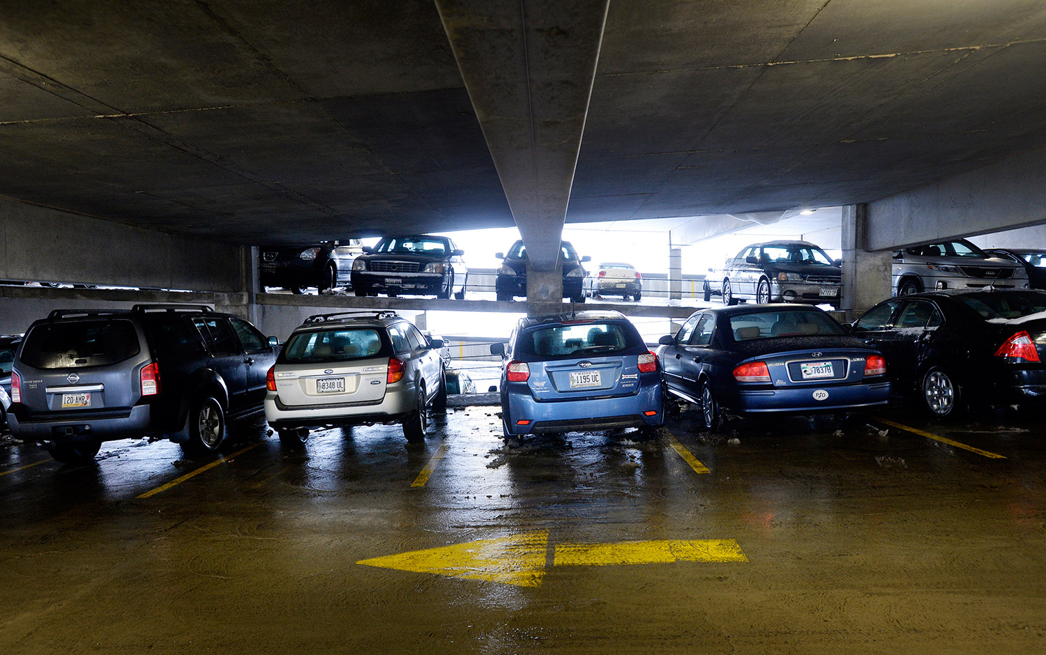 Garage Auto Nation Portland Car Burglars Take Their Work Inside To Parking