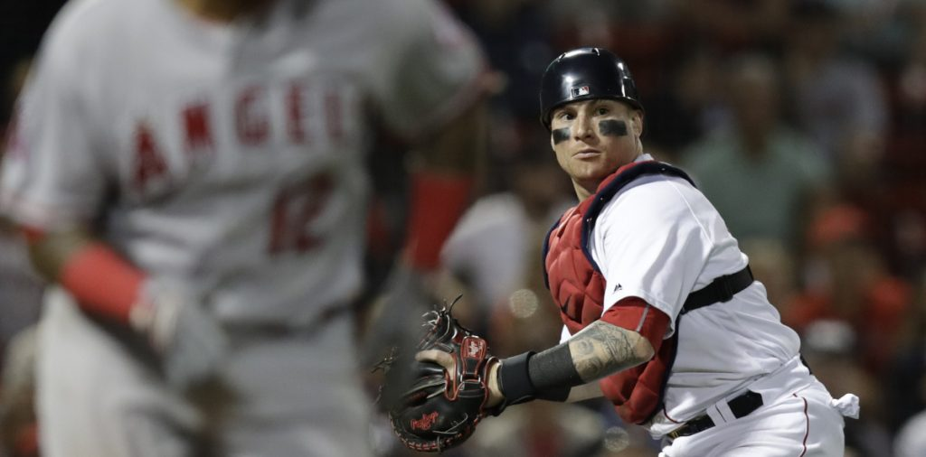Catcher Vazquez returning soon to Red Sox \u2013 but not atop depth chart