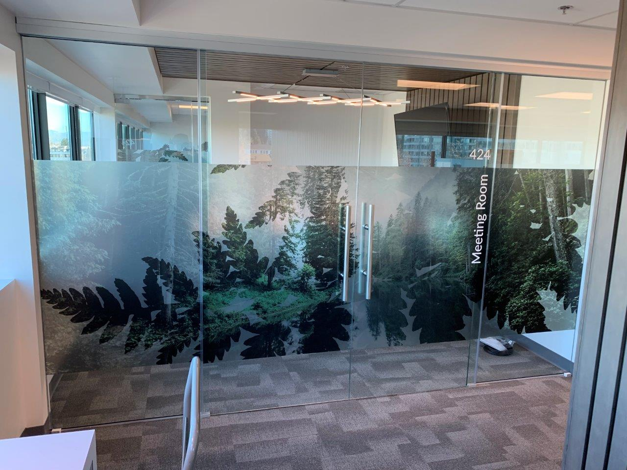 Translucent Window Film Custom Window Films And Tinting In Vancouver Multigraphics