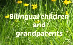 Bilingual children and grandparents