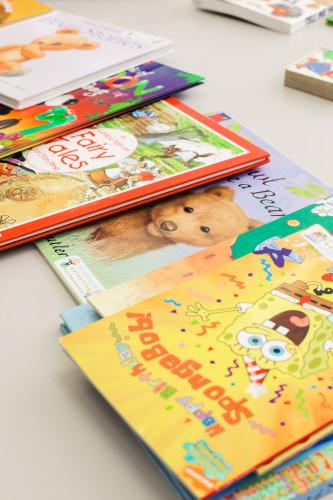 Kids love books!