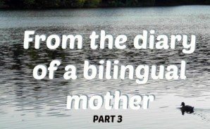 From the diary of a bilingual mother, part 3