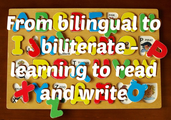 From bilingual to biliterate