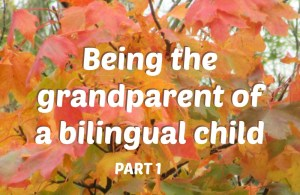 Being the grandparent of a bilingual child