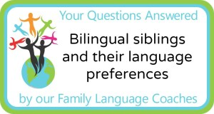 Q&A: Bilingual siblings and their language preferences