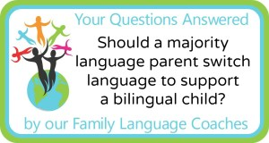 Q&A: Should a parent switch to a non-native language to support a bilingual child's  minority language?