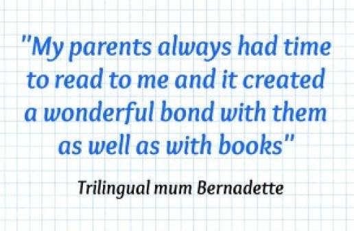 Multilingual Family Bernadette Quote