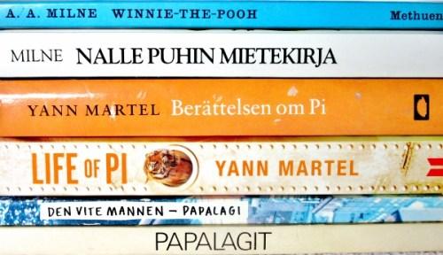 Bilingual bookshelf