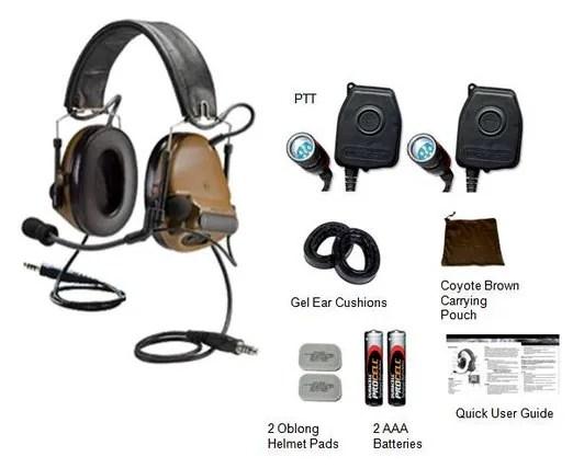 3M™ PELTOR™ COMTAC™ III ACH Tactical Communication Headset Headband