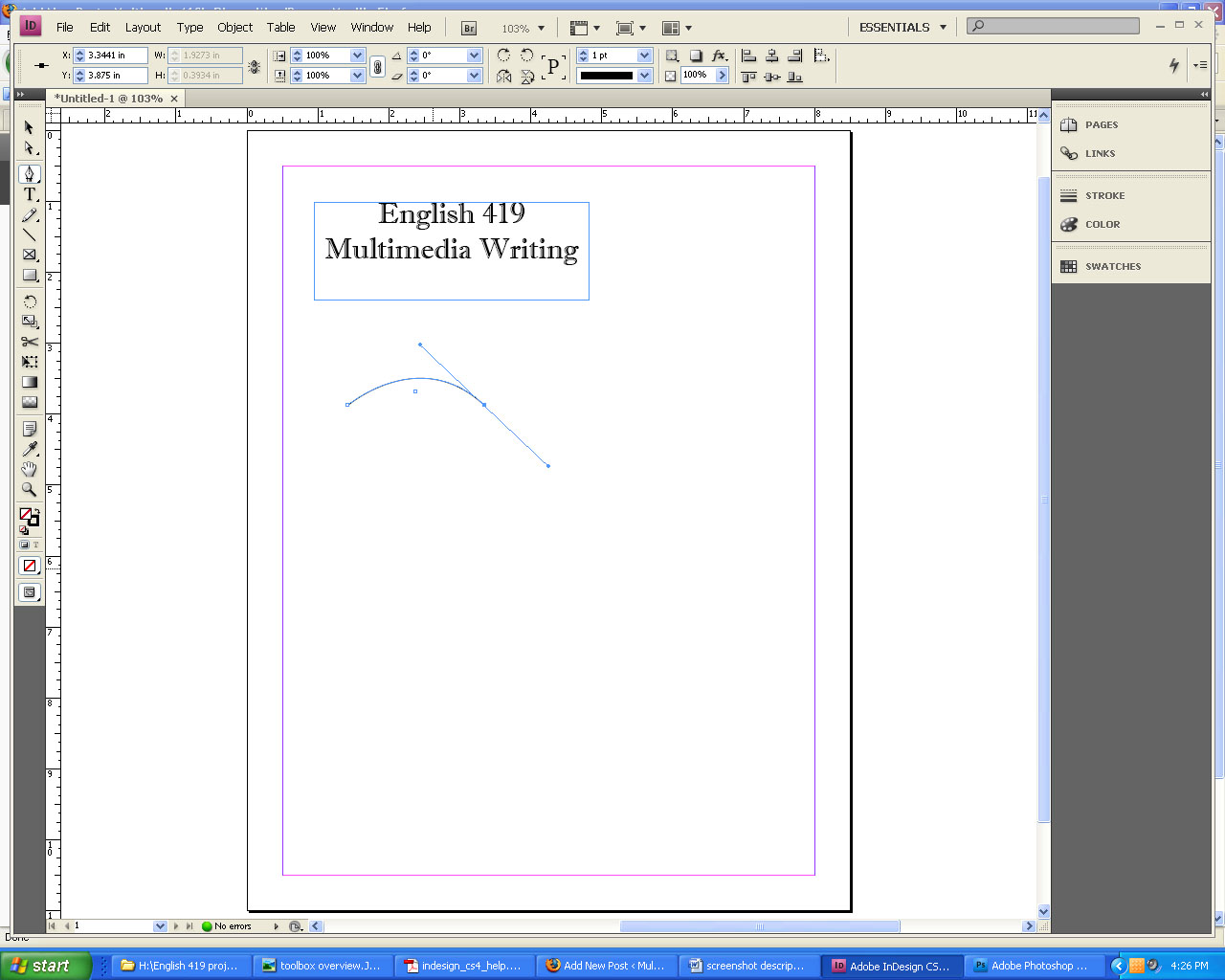 creating a flyer in word
