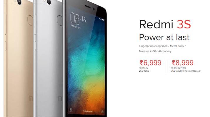 Xiaomi Redmi 3S & Redmi 3S Prime Review, Specs & Price in India