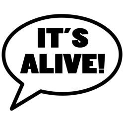 It's Alive! logo