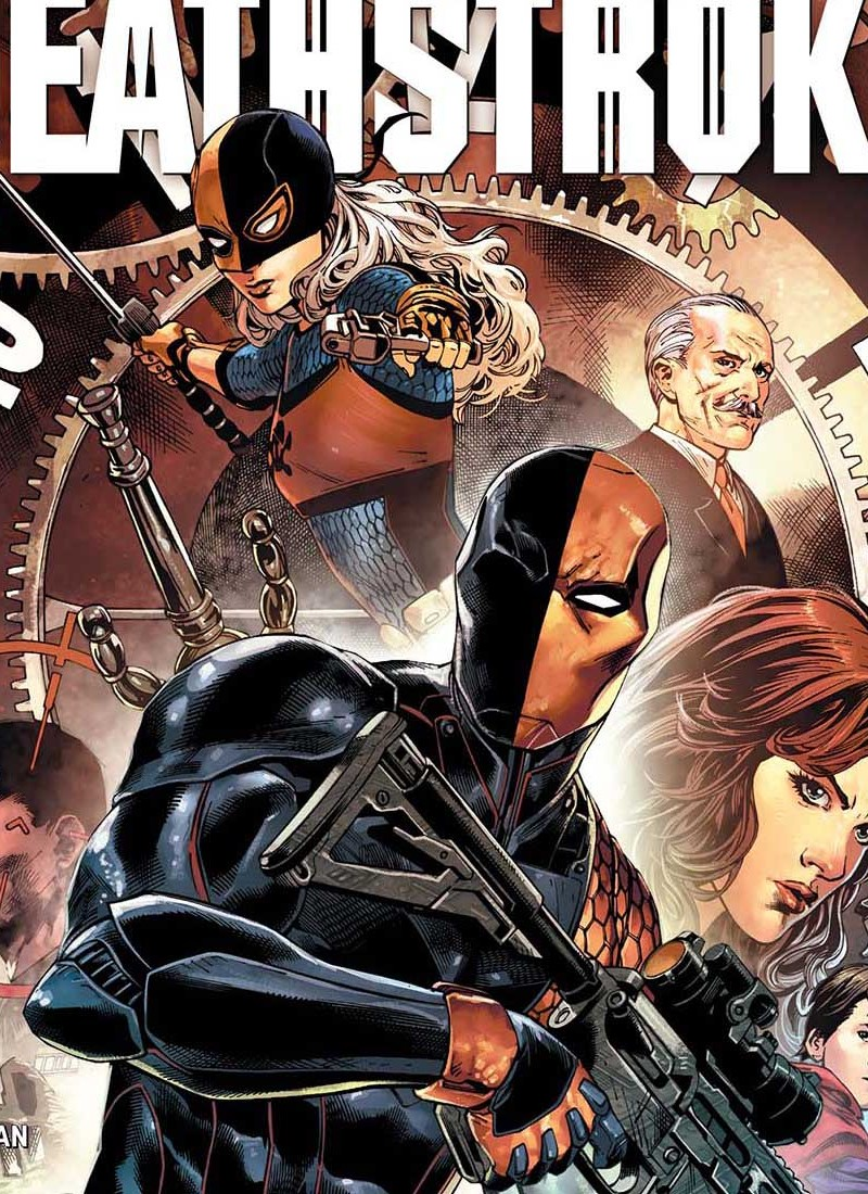 deathstroke 1 cover feature